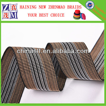belt webbing sofa elastic webbing belt with PE PP rubber or latexes HOT