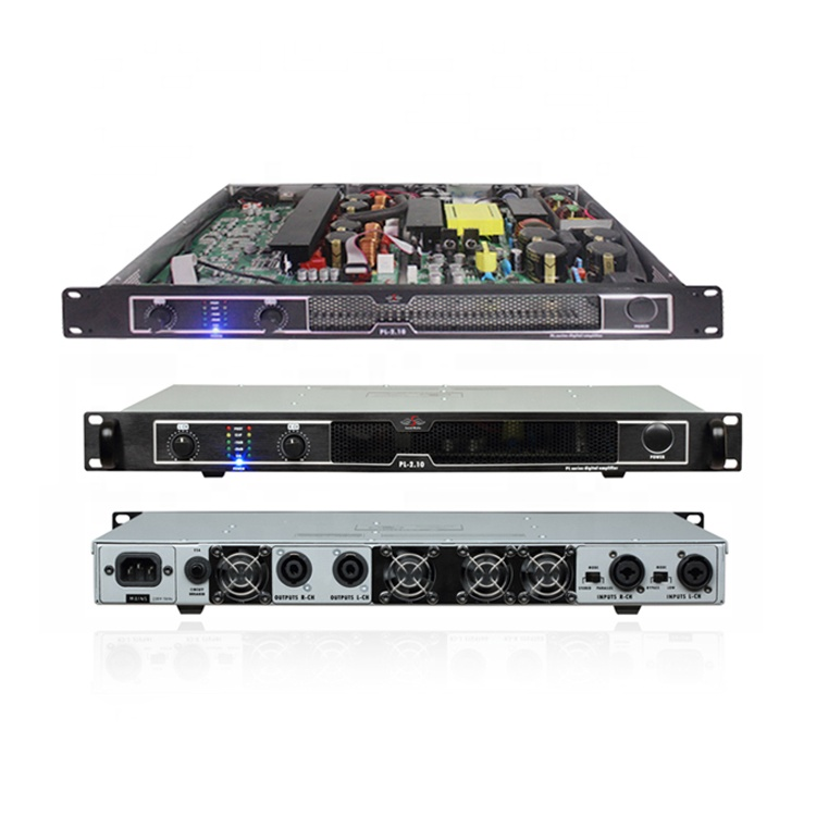 Design professional high power stage master audio 1000w 1 u class <strong>d</strong> powersoft digital pa amplifiers