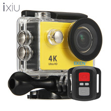 Hot ultra 4K H9 R waterproof extreme action camera wifi EKEN H9 sport camera 4k with 2.4G remote control