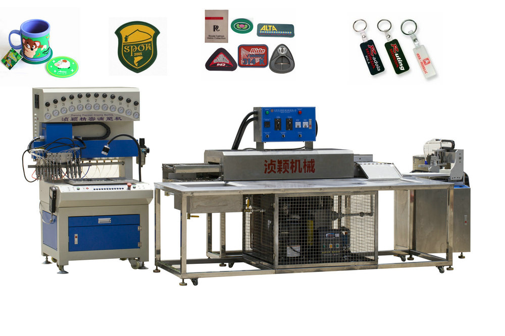 Automatic Soft PVC Label Making Machine