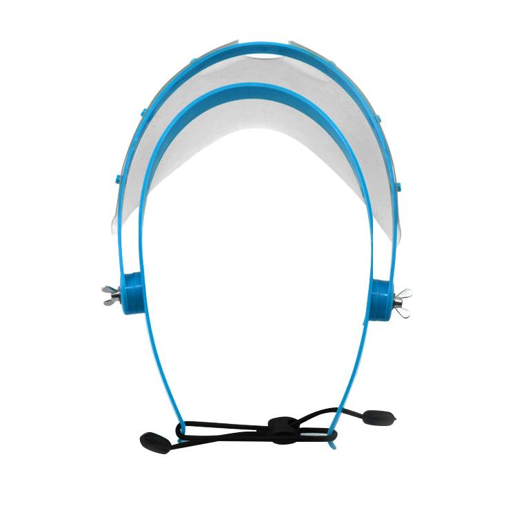 Clear Full Face Shield Safety Visor Mask For Medical