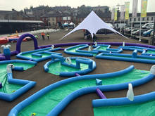 Inflatable 9 Hole Crazy Golf