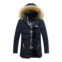 <strong>men's</strong> winter coat, men padding parka, faux fur collar down <strong>jacket</strong>