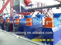 CE & 7 patents Tire Shredder tire recycling equipment