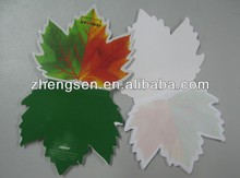 green leaf shaped Sticky notes a4