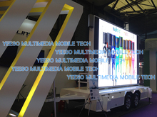Digital mobile led sign, outdoor LED billboard for advertising, sports events