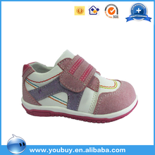 Latest Design Comfortable Soft Sole Baby Girls Fancy Sport Shoes