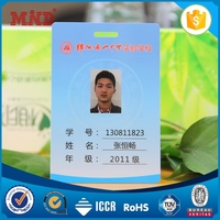 MDC1030 sample employee company school id cards with barcode