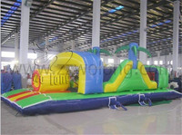 fun inflatable obstacle game / inflatable obstacle course bouncer