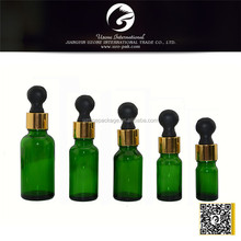 30ml green color drop bottles for essential oil