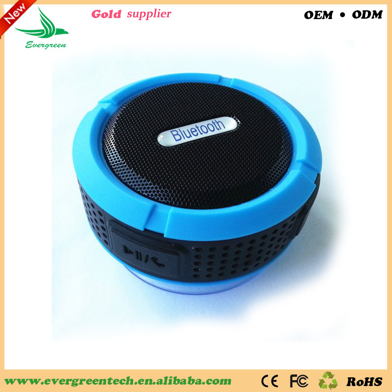 Evergreentech New Waterproof Speaker Wholesale Factory Price Good Quality Bluetooth Music Player