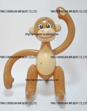 inflatable monkey animal toy