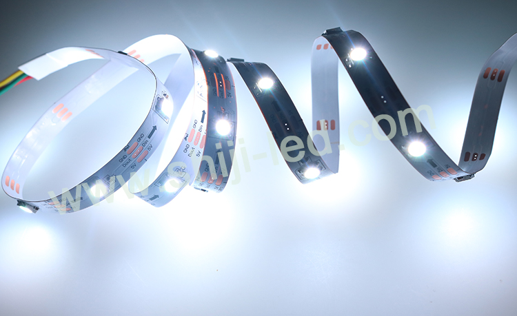 factory wholesale addressable 5050 rgbw/pure white 30pcs ws2812b led strip