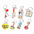 Various Designs Portugal Traditional Keyring Lucky Metal Key Chain Ring Set Souvenir Keychain