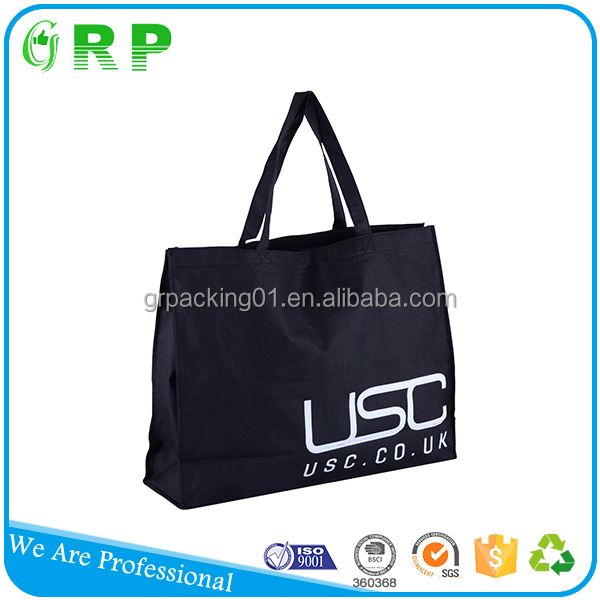 OEM production promotion shopping use eco non woven grocery bag