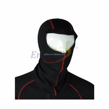 Aramid flame retardant balaclava mask double layer knitted hood