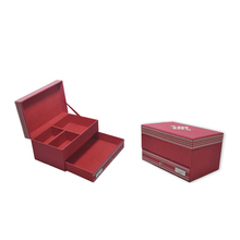 Rigid Strong Pu Leather Cosmetic Gift Packaging Box