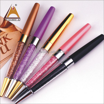 Top-sale customized bling souvenirs crystal ball pen