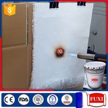 Anti-Fire Fireproof Low Odor Ceiling Inflated Fire Resistant Coating Paints For Steel Machine