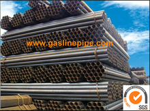 ERW HFW HFI Welded Steel Pipe according with ASTM A53 Gr.D