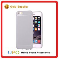 [UPO] Wholesale soft gel tpu clear matte shockproof ultra thin back cover case for apple iphone 5 cover
