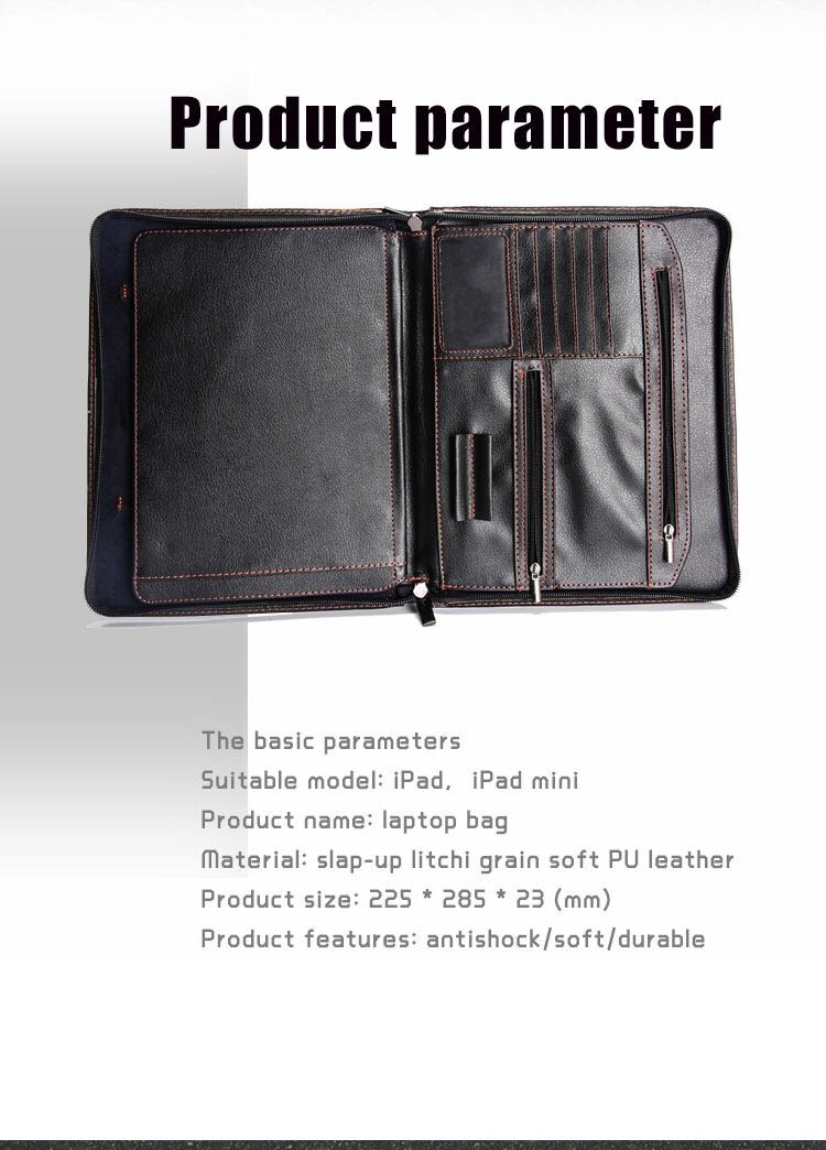 Large capacity designed for business person laptop for ipad