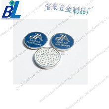 Branded logo necklace golf ball markers for decoration
