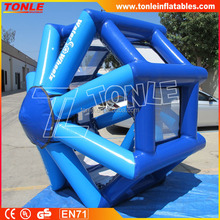 hot sale inflatable water game inflatable water wheel, human Water Wheelz
