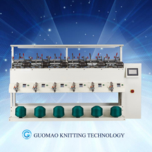 automatic soft string winding machine (6spindles with carriage)