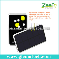 China Wholesale RoHS,CE,FCC solar powered phone charger for hiking for mobile phones and iPad