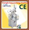 triangle tea bag overwrap packing machine