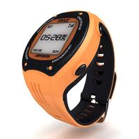 Pyle Sports Multi-Function Digital LED Sports Training Watch (Orange Color)