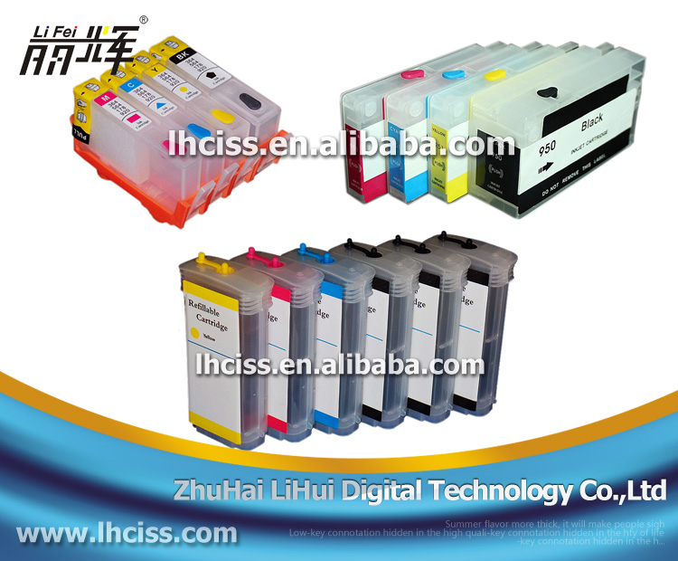 Lifei refill ink cartridge for HP 38 compatible for HP B9180 D9180 Plotter