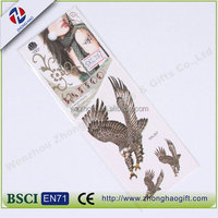 promotional Big photo in paper tattoo sticker