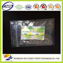 HeBei plastic bag manufacturer food grade packaing vacuum spout bag with zipper