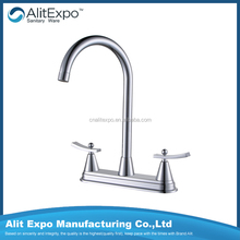 European and american style mixer double lever basin mixer Basinmixer Water tap Bench basin faucet KBF0042