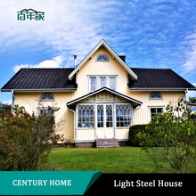 Prefabricated Building Modular Light Gauge Steel Villa