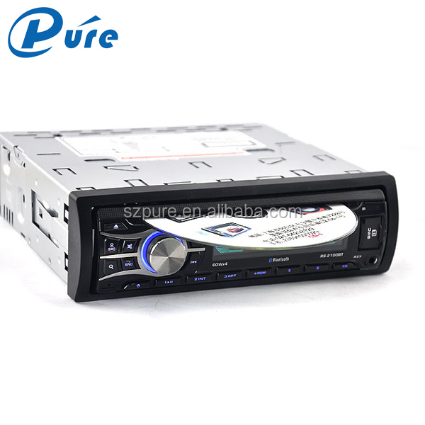 Portable DVD Player DVD/VCD/CD/MP3/MP4 Single Din DVD Car with Bluetooth Speaker