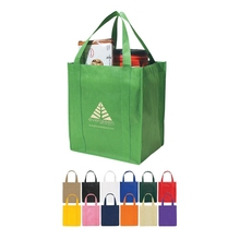 Personalized tote bag with logo, foldable shopping bags, eco nonwoven bag