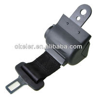 Simple Retractable two-point safe belt automotive safety seat belts