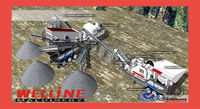 WELLINE mobile construction waste recycling plant