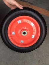 the rubber pneumatic wheel and tyre 300-8 for wheelbarrow with good price in Qingdao