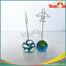 Ball shape memo clips /picture clip holder