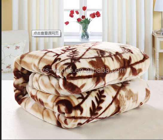 custom winter mink blankets india
