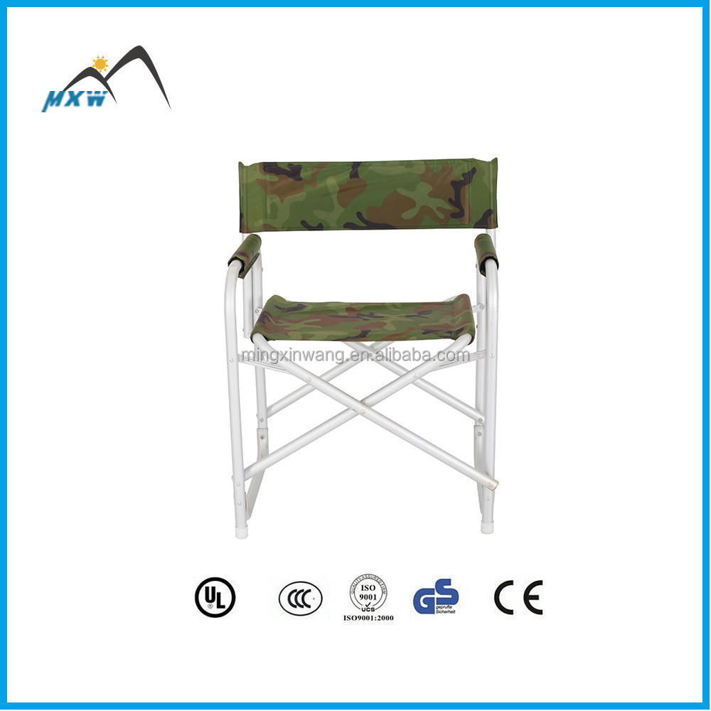 2014 hot global aluminum material advanced military folding chair