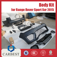 High Quality 2015 Front Bumper And Rear Bumper for 2016 Land Rover Range Rover Sport Svr 2015 Bumpers