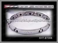 glitzy women tungsten energy power 99.999% germanium healthy bracelet/ fashion crystal jewelry exporter