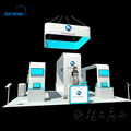 10'x10' booth advertising display used trade show booths
