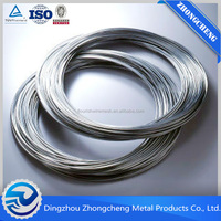 ISO factory galvanized tie wire/ gi wire china manufacturer