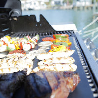 2015 Smoking Grilling Silicone BBQ Gloves /Grill Mat/Meat Claws BBQ Grill Tools Set